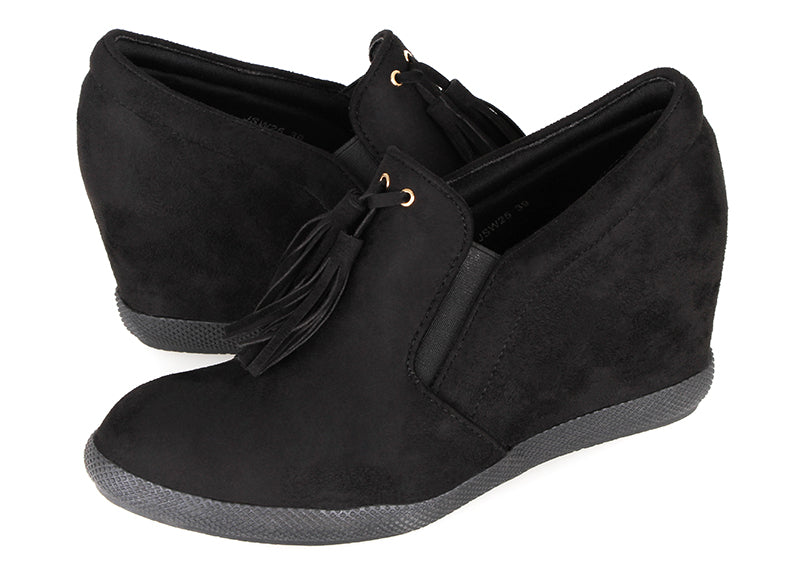 Tomaz JSW25 Ladies Wedge Bootie (Black)