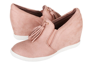 Load image into Gallery viewer, Tomaz JSW25 Ladies Wedge Bootie (Pink) (2226162303072)