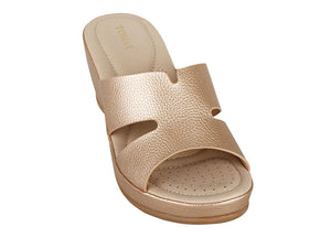 Load image into Gallery viewer, Tomaz L082 Ladies Platform Sandals (Cream) (2225935876192)