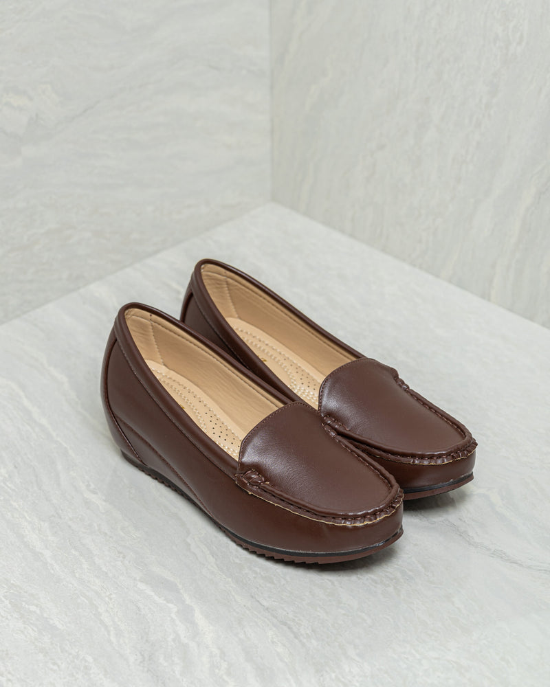 Tomaz L084 Ladies Loafers (Coffee)