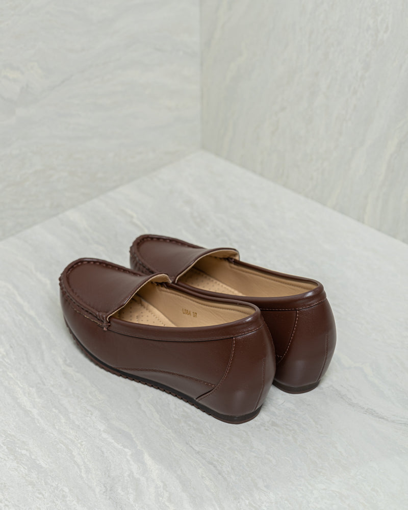 Load image into Gallery viewer, Tomaz L084 Ladies Loafers (Coffee)