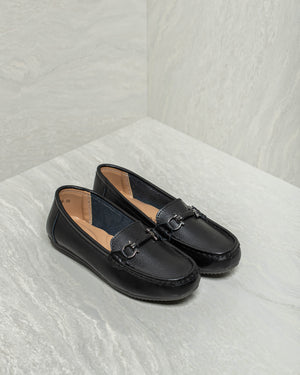 Load image into Gallery viewer, Tomaz LY84 Ladies Buckle Loafers (Black)