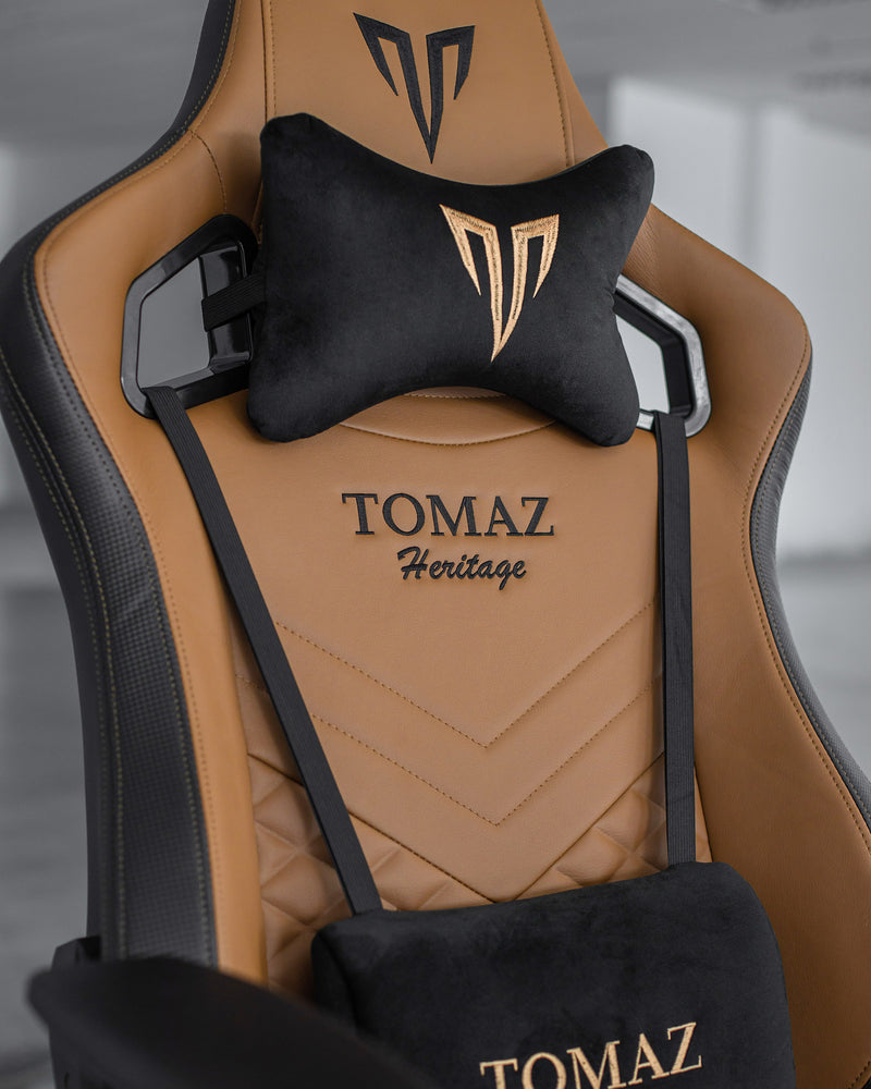 Tomaz Syrix II Gaming Chair (Brown) gaming chair, best gaming chair, gaming chair Malaysia, gaming chair murah terbaik, kerusi gaming, kerusi gaming murah, gaming chair budget, gaming chair heavy duty
