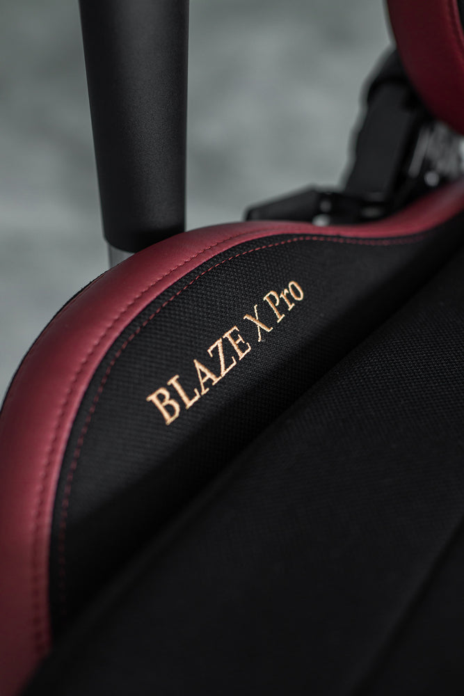 Load image into Gallery viewer, Tomaz Blaze X Pro Gaming Chair (Black Red Fabric) gaming chair, best gaming chair, gaming chair Malaysia, gaming chair murah terbaik, kerusi gaming, kerusi gaming murah, gaming chair budget, gaming chair heavy duty