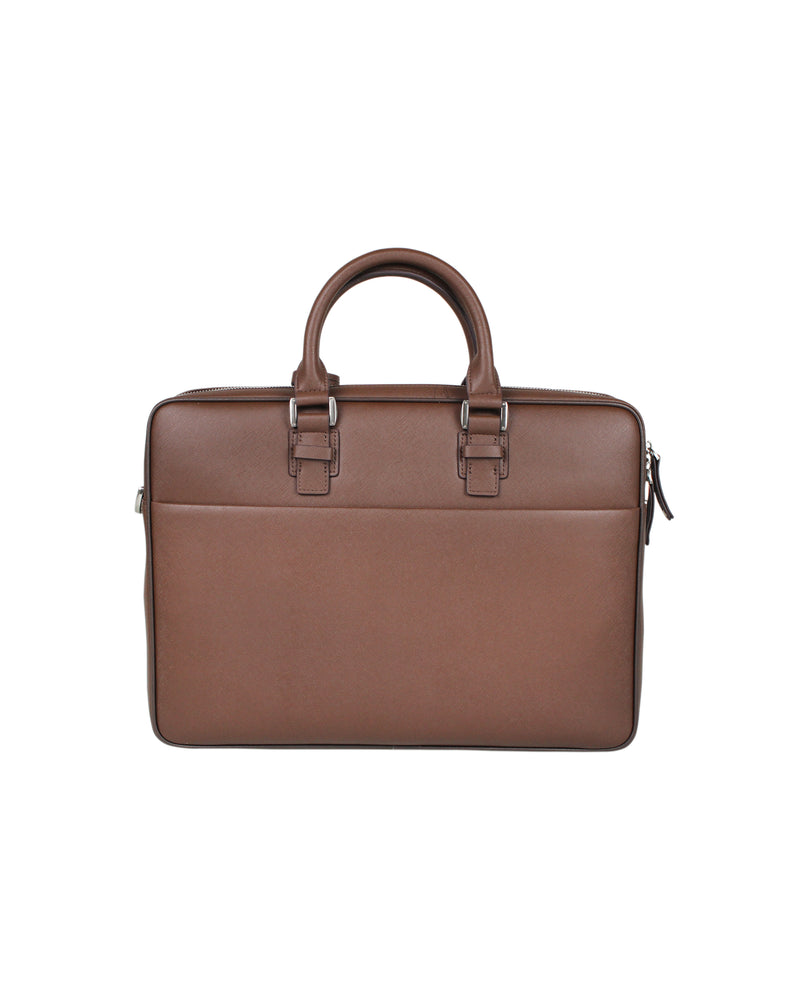 Tomaz NT27 Leather Office Bag (Coffee)