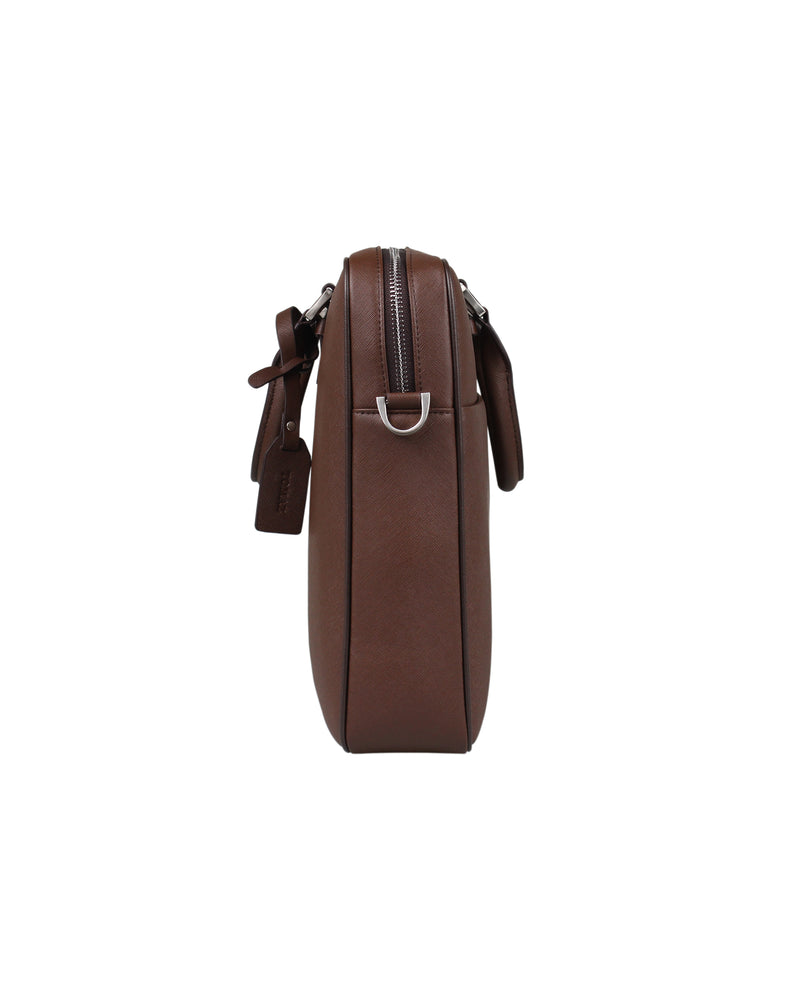 Load image into Gallery viewer, Tomaz NT27 Leather Office Bag (Coffee)