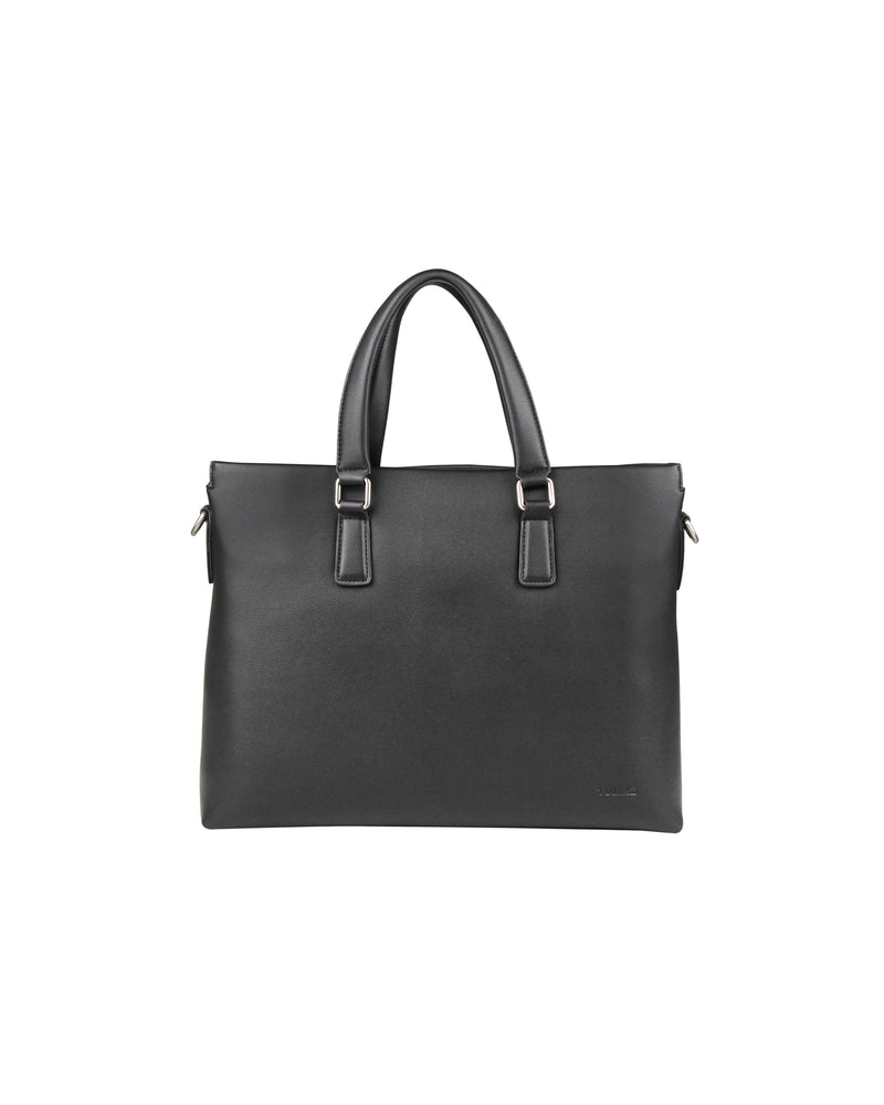 Tomaz NT64 Leather Office Bag (Black)