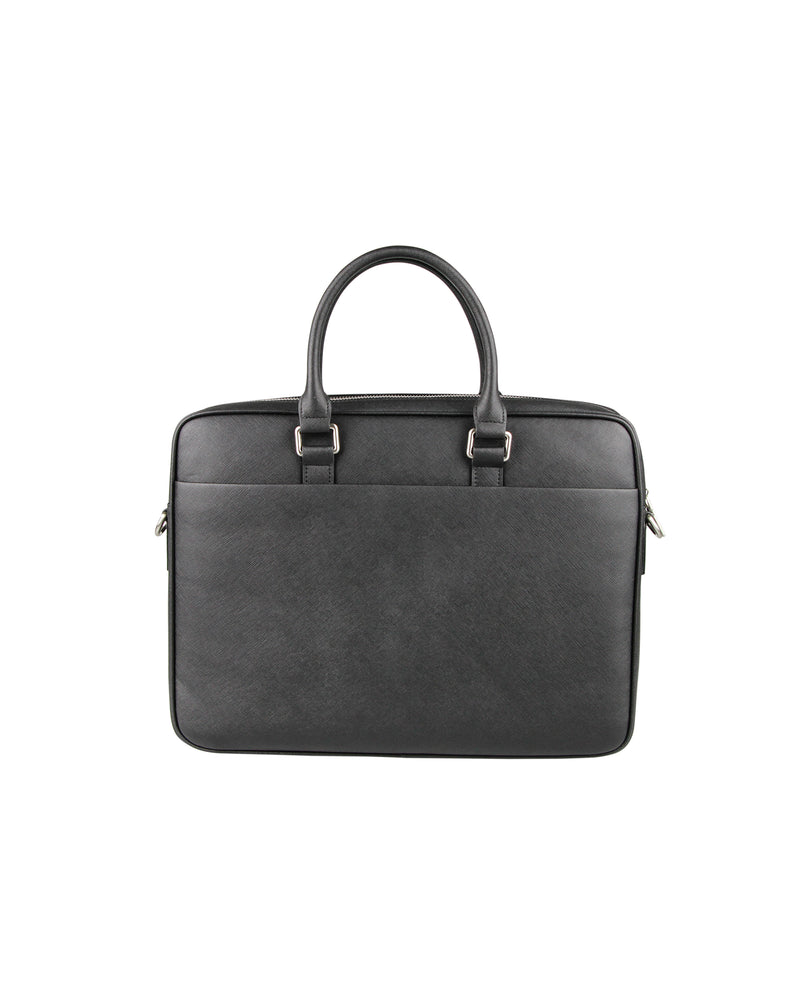 Load image into Gallery viewer, Tomaz NT67 Leather Office Bag (Black)