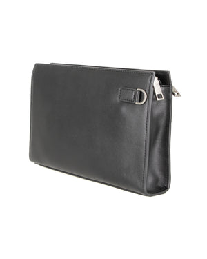 Load image into Gallery viewer, Tomaz NT73 Leather Clutch (Black)