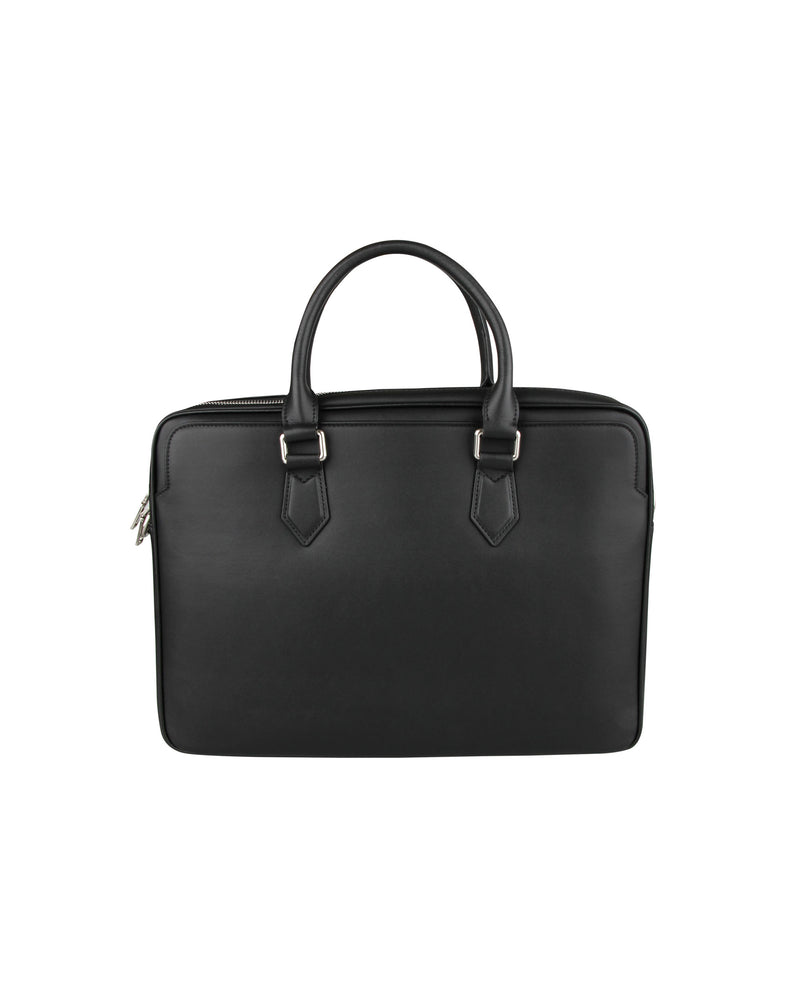 Tomaz NT92 Leather Office Bag (Black)
