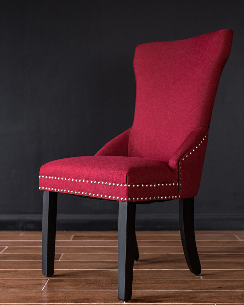 Tomaz Elizabeth Dining Chair (Red)