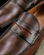 Tomaz BF249 Penny Loafers (Coffee) men shoe, men's shoe, men's italian dress shoes, men's dress shoes, men's dress shoes near me, shoe shop near me, tomaz shoe locations, shoe store near me, formal shoes