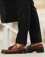 Tomaz F251 Tassel Loafers (Wine) (4478707204192)