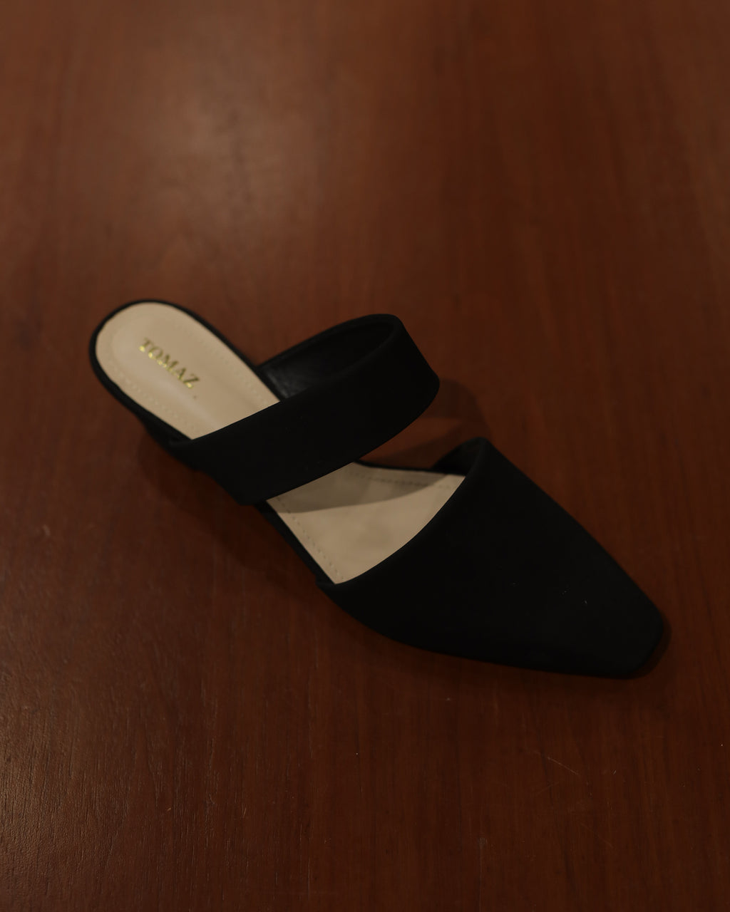 Tomaz MW3 Ladies Slip Ons (Black)