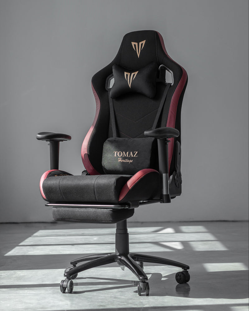 Tomaz Blaze X Pro Gaming Chair (Black Red Fabric) gaming chair, best gaming chair, gaming chair Malaysia, gaming chair murah terbaik, kerusi gaming, kerusi gaming murah, gaming chair budget, gaming chair heavy duty