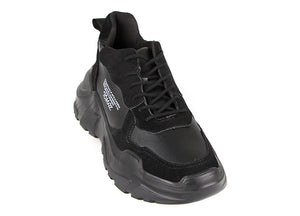 Load image into Gallery viewer, Tomaz TBB03 Casual Sneakers (Black) (1932945096800)
