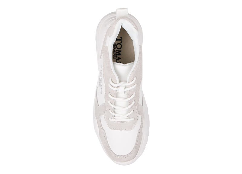 Load image into Gallery viewer, Tomaz TBB03 Casual Sneakers (White) (1932945883232)