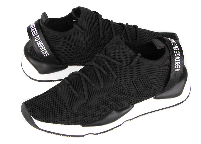 Load image into Gallery viewer, Tomaz TBB05 Casual Sneakers (Black) (2214187466848)