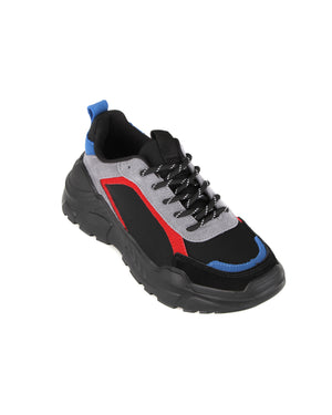 Load image into Gallery viewer, Tomaz TBB07 Casual Sneakers (Blue/Red/Black)