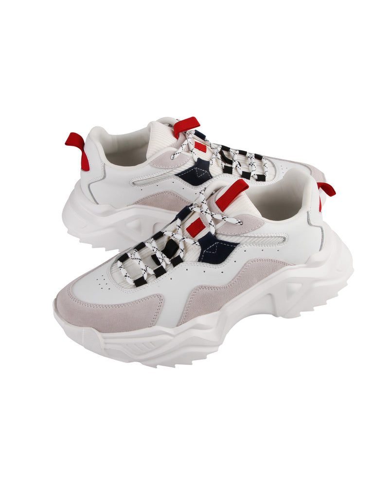 Load image into Gallery viewer, Tomaz TBB11 Casual Sneakers (White)