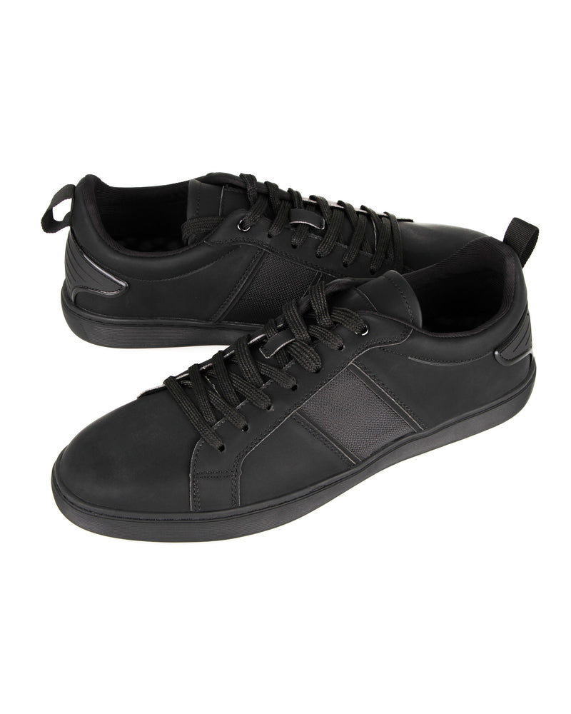 Load image into Gallery viewer, Tomaz TR560 Men's Court Sneakers (Black) mens shoes sneaker, men's casual sneakers, Men sneakers, Men sneakers on sale, Men sneakers 2020, Men's sneakers on sale near me, Men's running sneakers on sale.