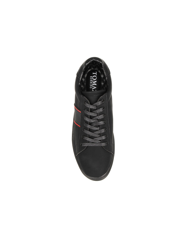 Load image into Gallery viewer, Tomaz TR566 Mens Sneakers (Black) mens shoes sneaker, men's casual sneakers, Men sneakers, Men sneakers on sale, Men sneakers 2020, Men's sneakers on sale near me, Men's running sneakers on sale.