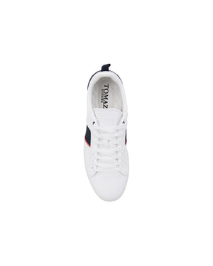 Load image into Gallery viewer, Tomaz TR800M Men's Court Sneakers (White/Navy/Red) mens shoes sneaker, men's casual sneakers, Men sneakers, Men sneakers on sale, Men sneakers 2020, Men's sneakers on sale near me, Men's running sneakers on sale.