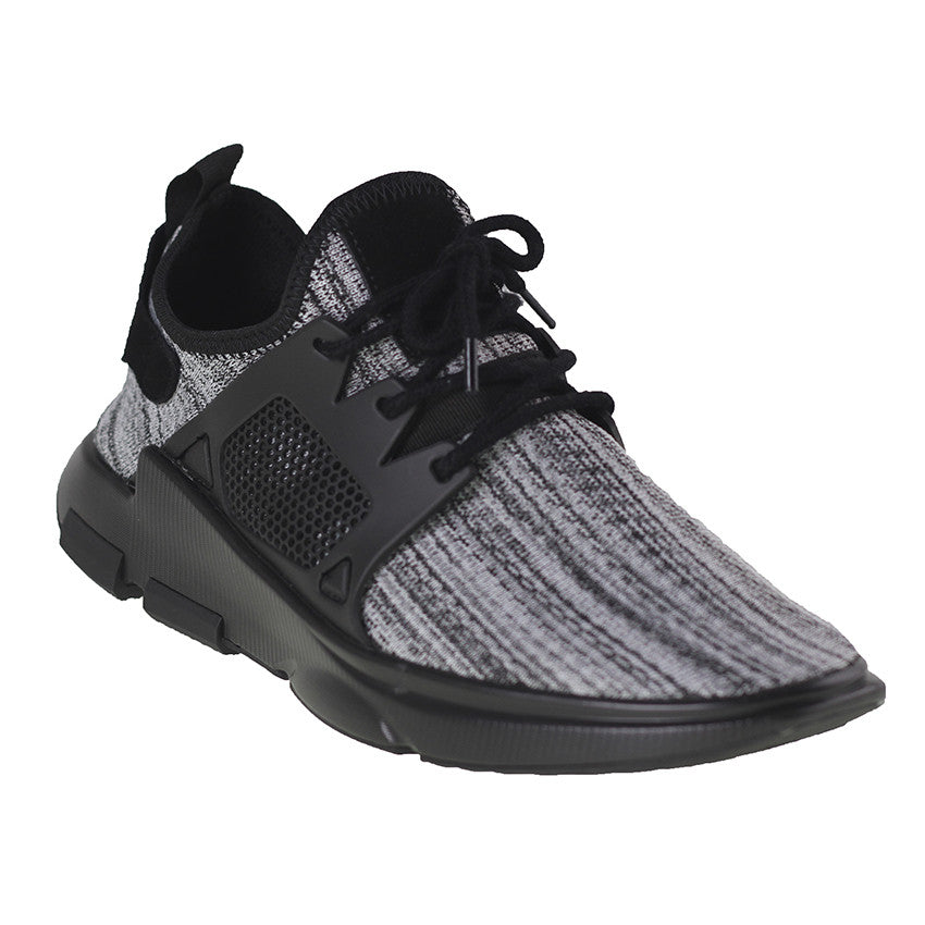Tomaz 225 Running Knit (Grey) - Tomaz Shoes (9673698888)