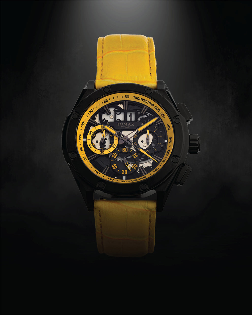 Tomaz Men's Watch RAWR III (Yellow) -TW024B-D2