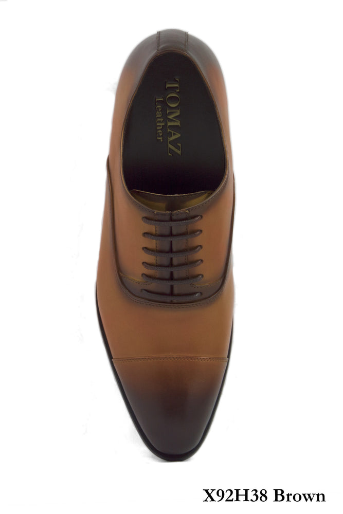 Load image into Gallery viewer, Tomaz X92H38 Captoe Oxford (Brown) (8733409096)