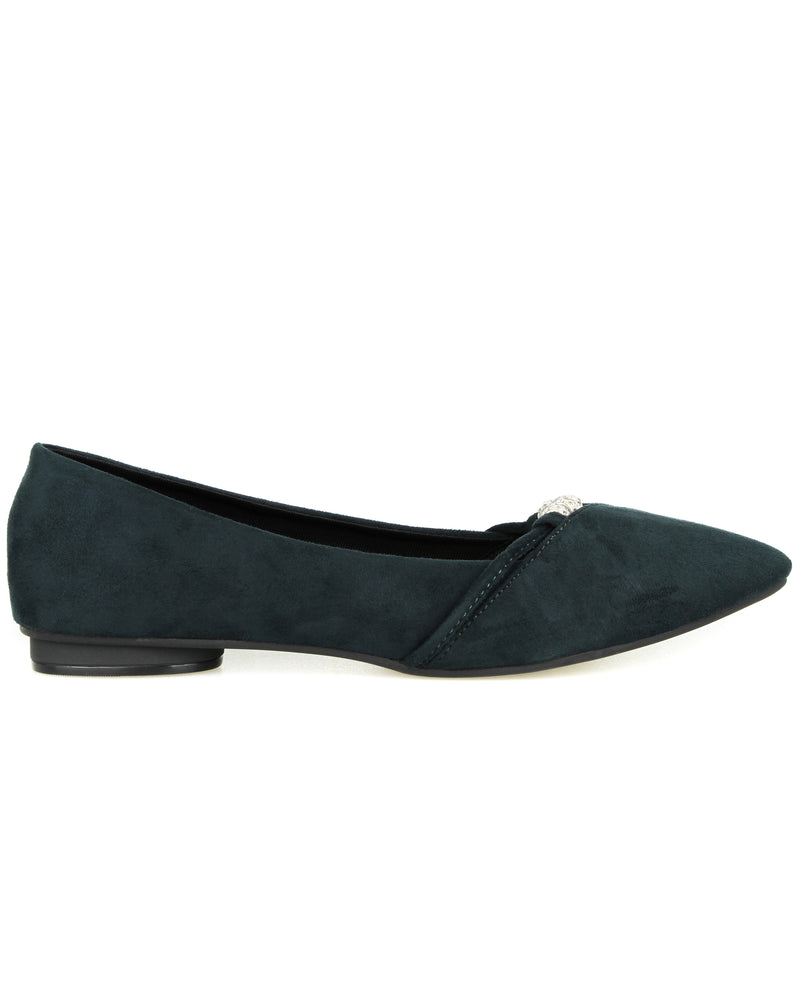 Load image into Gallery viewer, Tomaz XP50 Ladies Flats (Green)
