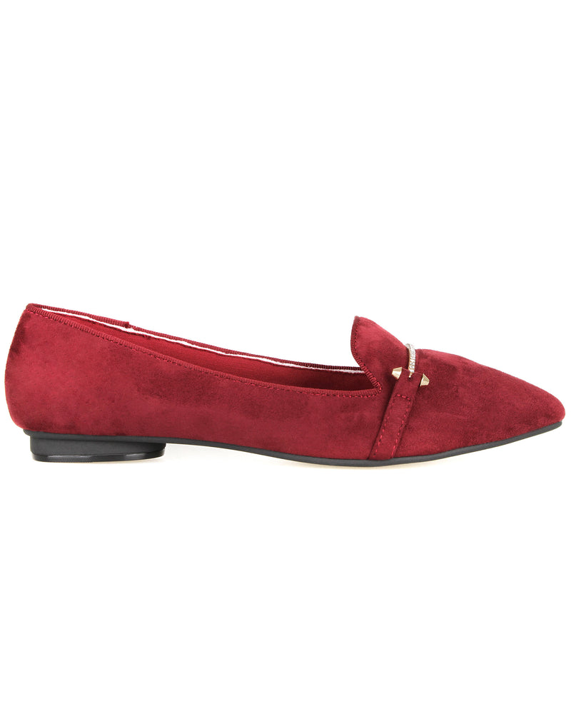 Tomaz XP92 Ladies Flats (Maroon)
