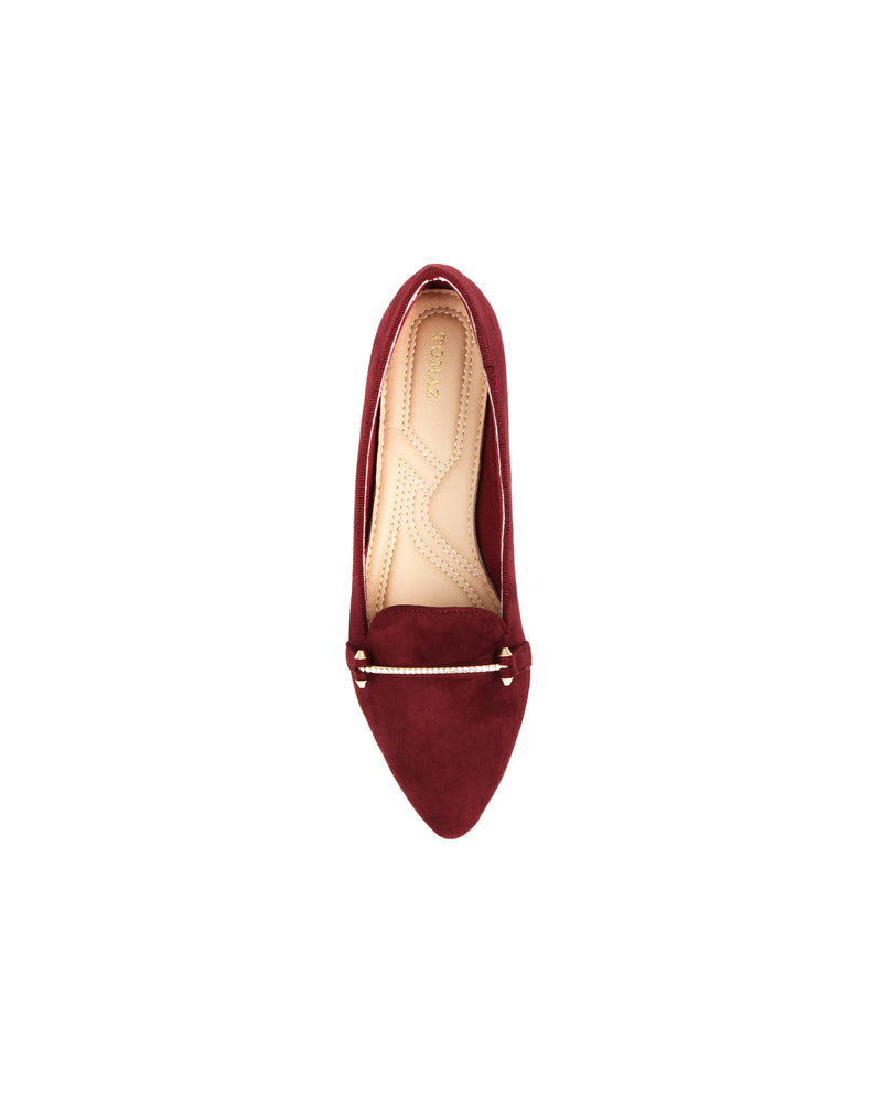 Load image into Gallery viewer, Tomaz XP92 Ladies Flats (Maroon)