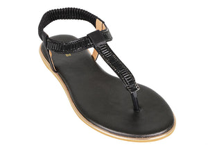 Load image into Gallery viewer, Tomaz XP94 Ladies Sandals (Black) (2225980440672)