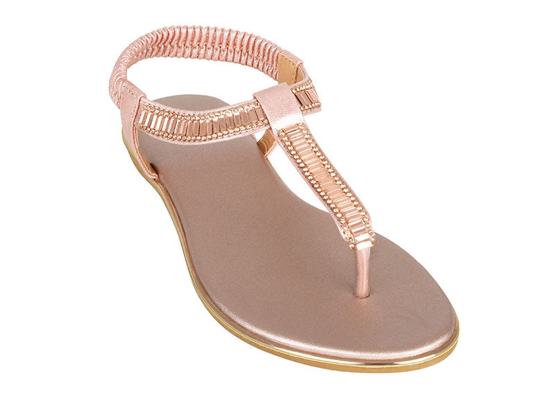 Load image into Gallery viewer, Tomaz XP94 Ladies Sandals (Rose Gold) (2225985355872)