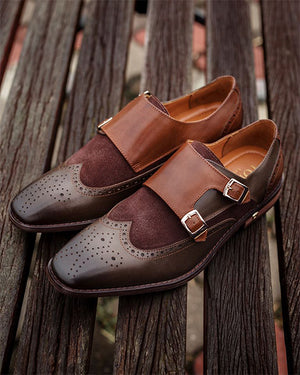 Load image into Gallery viewer, Tomaz F219 Formal Monkstrap (Coffee) (2214122356832)
