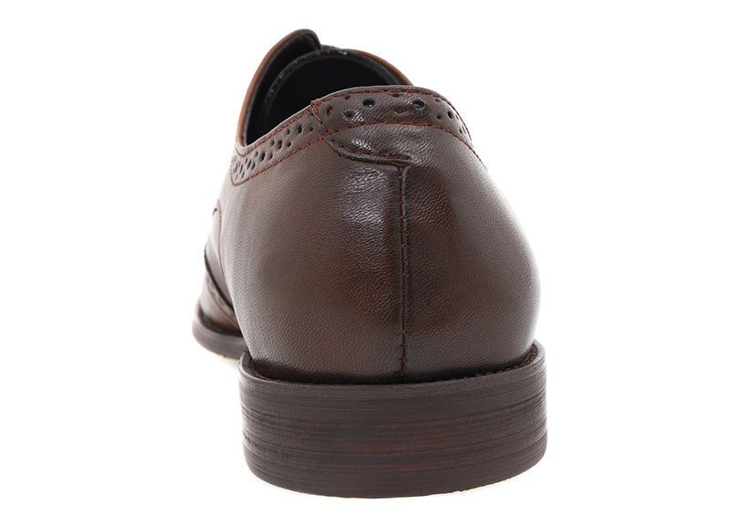 Load image into Gallery viewer, Tomaz F215 Wingtips Derbies (Coffee) (4496813260896)