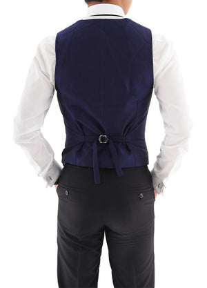 Load image into Gallery viewer, Tomaz 2033-3 Men's Vest (Navy)