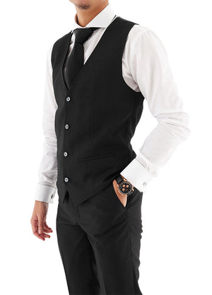 Load image into Gallery viewer, Tomaz 8113 Men's Vest (Black)