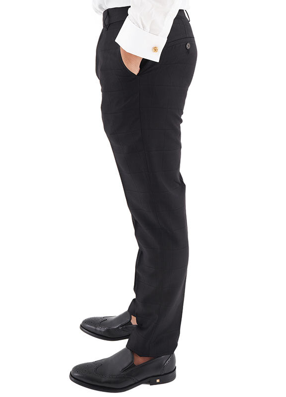 Load image into Gallery viewer, Tomaz FT1301 Men's Dress Pants (Black)