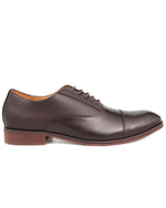 Tomaz F268 Cap Toe Oxfords (Coffee) men shoe, men's shoe, men's italian dress shoes, men's dress shoes, men's dress shoes near me, shoe shop near me, tomaz shoe locations, shoe store near me, formal shoes
