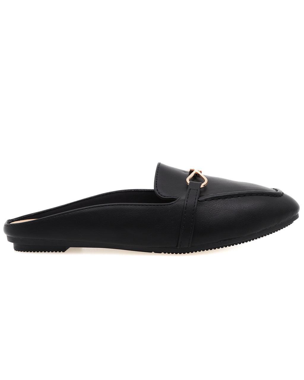 Tomaz XP102 Ladies Mule Slip Ons (Black)