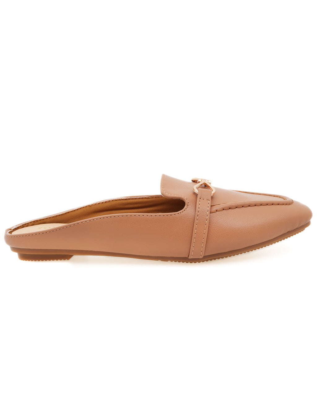 Tomaz XP102 Ladies Mule Slip Ons (Camel)
