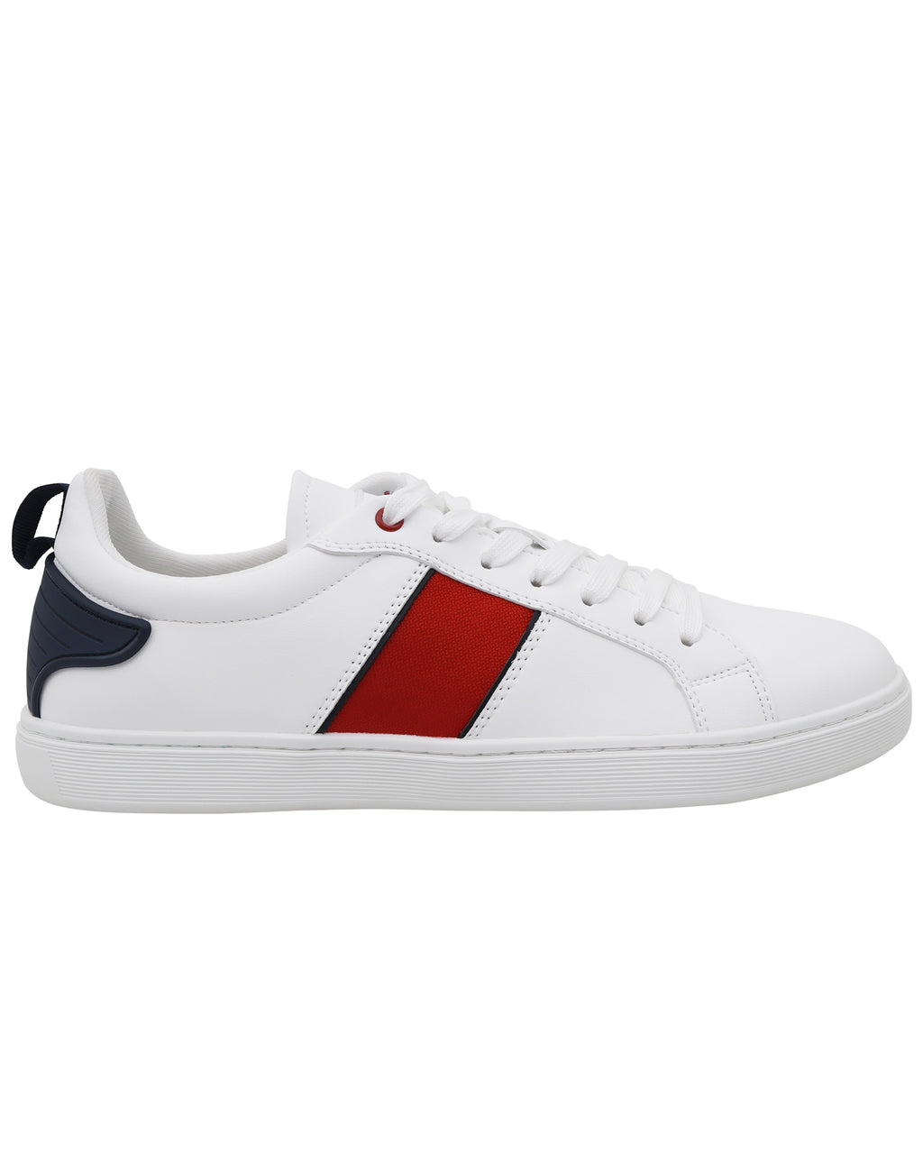 Tomaz TR800L Ladies Sneakers (White/Red/Navy)