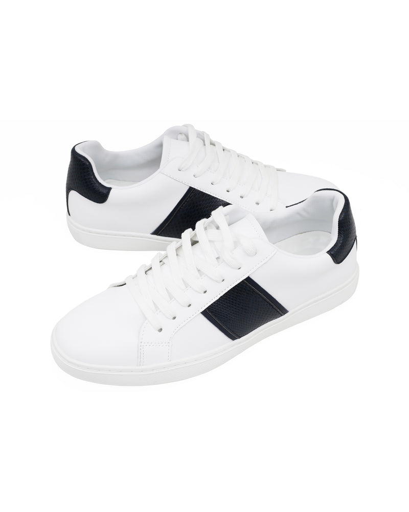 Tomaz TR810 Men's Sneakers (White Navy) mens shoes sneaker, men's casual sneakers, Men sneakers, Men sneakers on sale, Men sneakers 2020, Men's sneakers on sale near me, Men's running sneakers on sale.