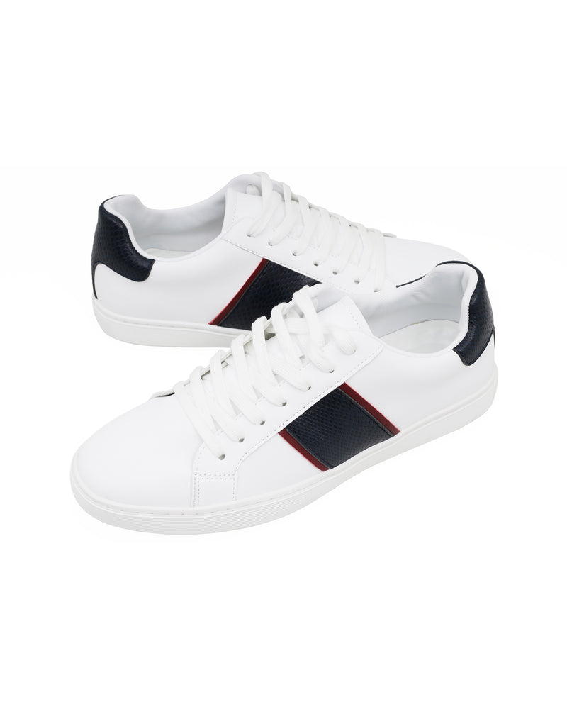 Tomaz TR820M Men's Sneakers (White/Navy/Red) mens shoes sneaker, men's casual sneakers, Men sneakers, Men sneakers on sale, Men sneakers 2020, Men's sneakers on sale near me, Men's running sneakers on sale.