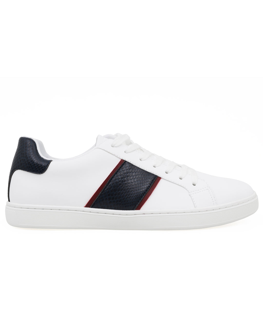 Tomaz TR820M Men's Sneakers (White/Navy/Red)