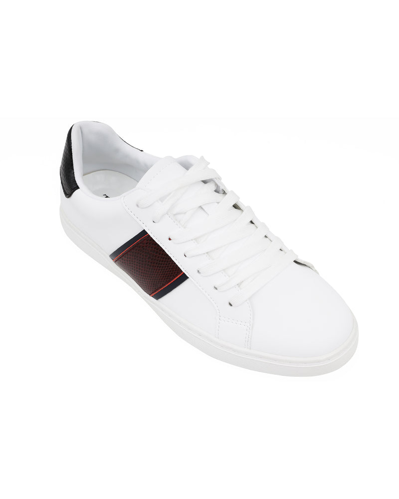 Load image into Gallery viewer, Tomaz TR820L Ladies Sneakers (White/Red/Navy)