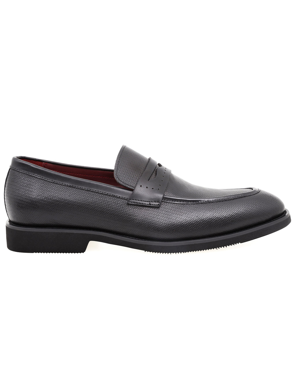 Tomaz HF014 Formal Penny Loafers (Black)