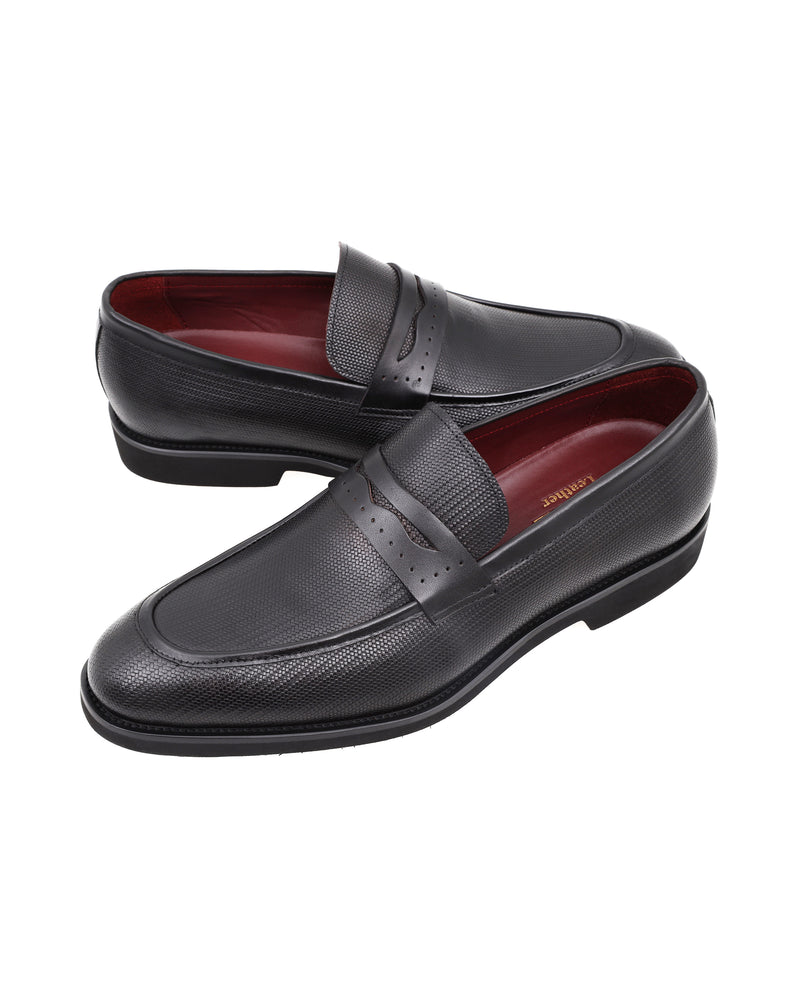 Tomaz HF014 Formal Penny Loafers (Black) men shoe, men's shoe, men's italian dress shoes, men's dress shoes, men's dress shoes near me, shoe shop near me, tomaz shoe locations, shoe store near me, formal shoes